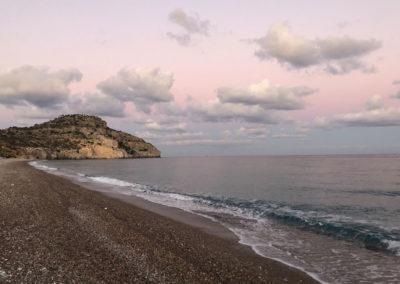 Afandou beach